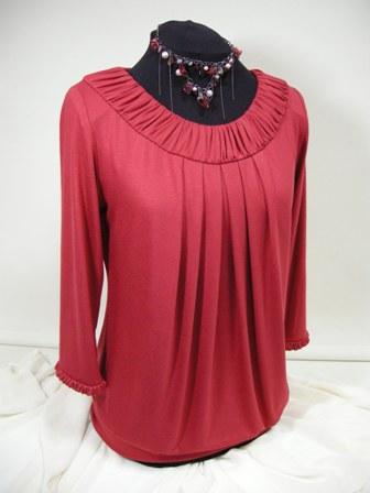 Maree Pigdon sewing - Designer Top No 2