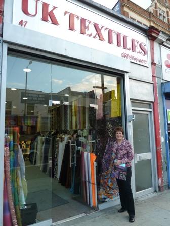 Sewing Tour - UK Textiles London | Sewing Blog